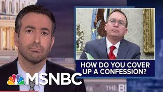 Impeachment Circular Firing Squad? See Trump's Allies Turn On Aide Who Admitted Ukraine Plot   MSNBC