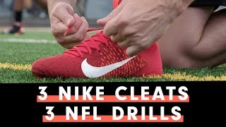 NFL Pro Tests The Best Nike Football Cleat For Your Position
