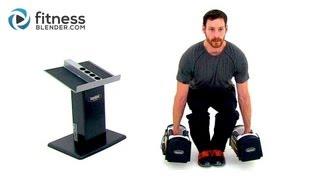 快速下半身鍛煉力量 - 啞鈴腿鍛煉在家裡 出處 FitnessBlender