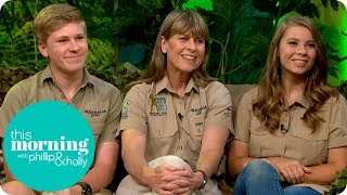 Steve Irwin's Family On Continuing His Legacy   This Morning