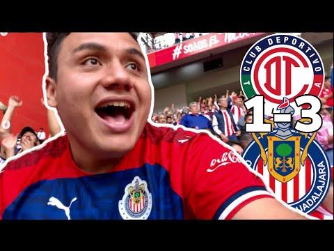 TOLUCA vs CHIVAS 1-3 PULIDO y CHOFIS Arrasan el INFIERNO | Desde estadio Nemesio Diez LA BOMBONERA