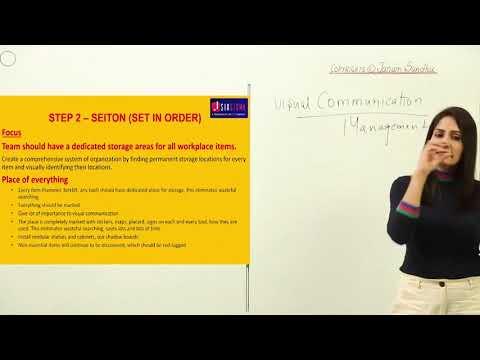5S Methodology I Lean Tool I Hindi I Course I Training I Certification ...