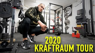 KRAFTRAUM UPGRADE! Gym Tour 2020 mit neuem Equipment