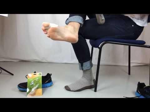 กว่าที่จะรักษากระดูกเท้าใกล้เท้าวิดีโอขนาดใหญ่