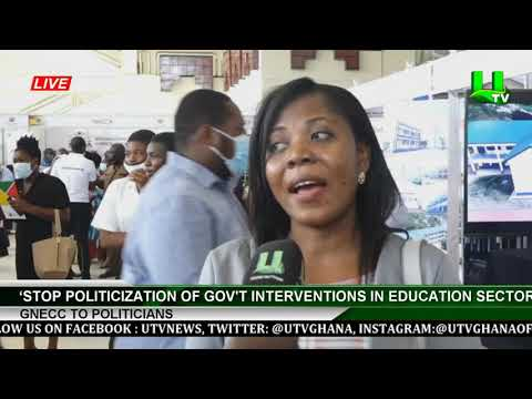 'Stop Politicization Of Gov't Interventions In Education Sector' -GNECC To Politicians