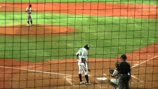 第39回社会人野球日本選手権富士重工業対三菱重工神戸3回裏