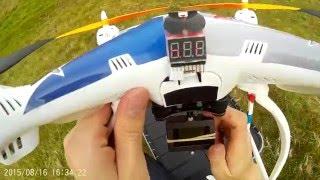 Syma X8C lifting SJ4000 camera SJCAM 4000  drone quadcopter test 1