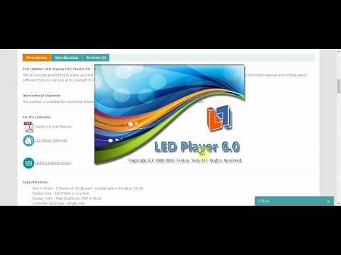 Arduino P10 LED Dot Matrix Display Driver Shield - смотреть онлайн