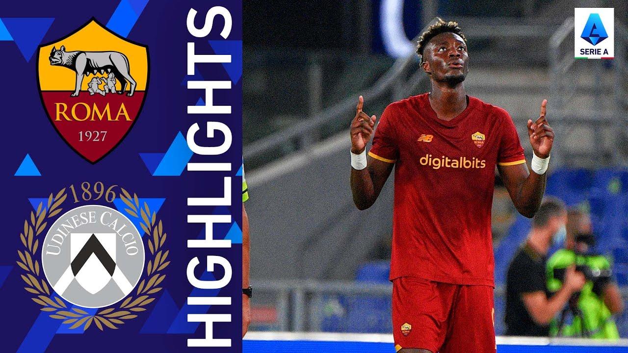 Roma 1-0 Udinese | Abraham strikes again! | Serie A 2021/22