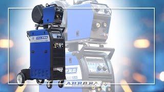 """Инверторный сварочный полуавтомат для сварки алюминия AuroraPRO SKYWAY 350 DUAL PULSE с воздушным охлаждением от компании ООО """"РСТ"""" - видео 3"""