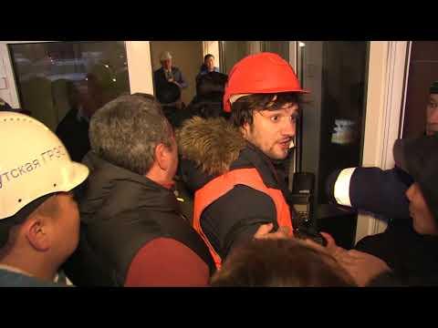 Видеофакт: в Сети появилась еще одна запись штурма Якутской ГРЭС журналистами