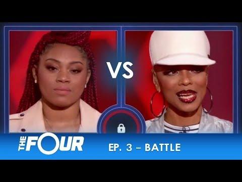 Lil Bri vs Sharaya J: EPIC FIRST FEMALE RAP BATTLE ON PRIMETIME TV! | S2E3 | The Four