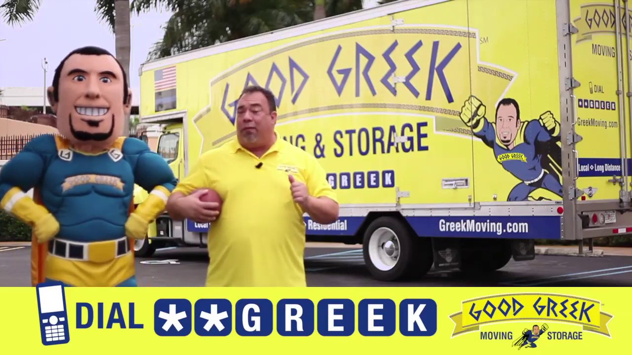Good Greek Moving Company: Big Game Halftime Spot!