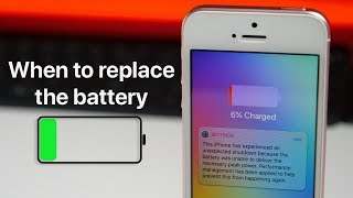 iPhone Battery - When To Replace It