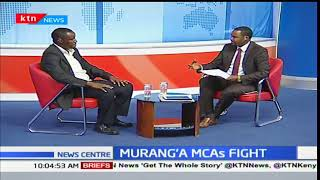 Murang's MCAs battle after they were attacked by goons
