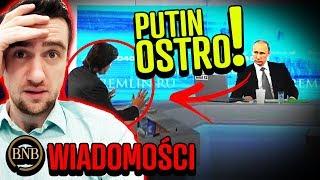 Putin NIE WYTRZYMAŁ! Rosja GROZI globalnym konfliktem | WIADOMOŚCI