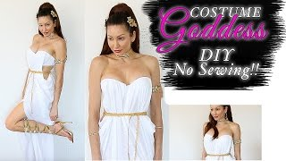 SEXY Goddess Costume - EASY DIY - NO SEWING