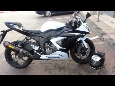 kawasaki ninja zx6r 636 2005 akrapovic full system. Black Bedroom Furniture Sets. Home Design Ideas