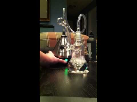 Volcano to hand bubbler