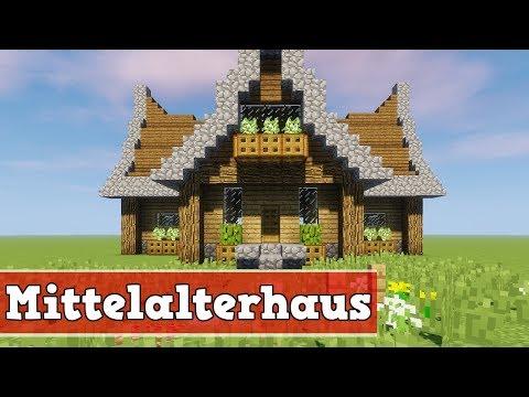 Wie Baut Man Ein Schönes Haus In Minecraft Minecraft Haus Schöner - Minecraft kleine mittelalter hauser