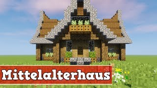 minecraft mittelalter haus bauen tutorial deutsch 123vid. Black Bedroom Furniture Sets. Home Design Ideas