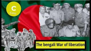 The Bengali war of liberation