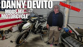 Danny Devito Helps Me Build My Motorcycle | DRZ BUILD SERIES