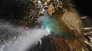 Водопад «Пасть дракона» /FPV Drone