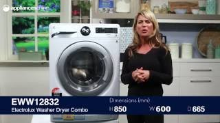 Electrolux EWW12832 Washer Dryer Combo Overview - Appliances Online