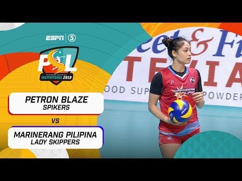 [Sport5]  Full Game: Petron Blaze vs. Marinerang Pilipina | PSL Invitational Conference 2019