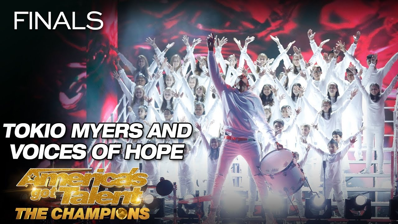 Tokio Myers And Voices Of Hope Children's Choir Stun The Crowd - America's Got Talent: The Champions thumbnail