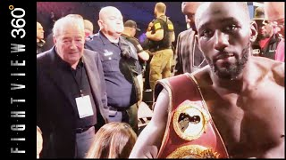 ARUM & HAYMON HAVE TO TALK(ABOUT SPENCE) SAYS CRAWFORD! CRAWFORD VS BENAVIDEZ POST FIGHT!