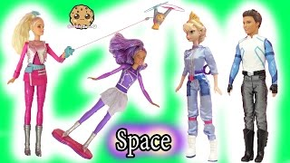 Flying Space Cat & Hoverboard Flipping Doll - Star Light Adventure Movie Barbie Collection