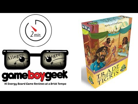 The Game Boy Geek's Allegro (2-min Review) of Trade on the Tigris
