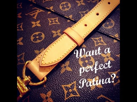 Video **The Louis Vuitton SECRET**   Baby Wiping Vachetta