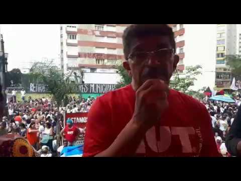 Antonio Carlos Lima conclama para que todos os servidores entrem em greve