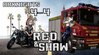 Shaw  - (Arknights) - Arknights : 4-4 Red & Shaw