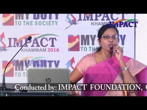 Success Mediation|Satyavani|TELUGU IMPACT Khammam 2016