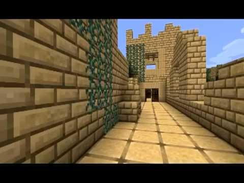 Erosion map from Modern Warfare 3 Minecraft Project