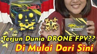 Rajawali Whoop | Part 1 | Dreams Come True ! Drone Micro Tiny Whoop Non FPV ! 300rban ! TOKOHELI