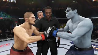 Khabib vs. Hulk Mutant (EA Sports UFC 3) ☝️🦅