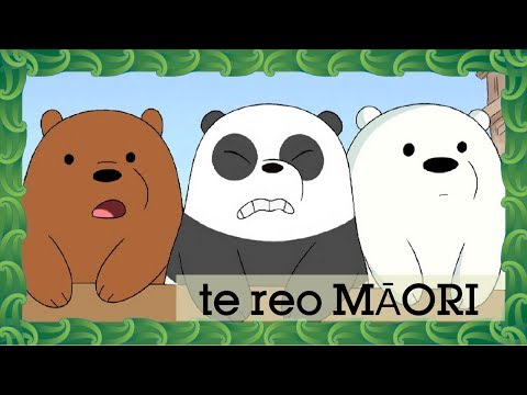 We Bare Bears | Potty Time (Māori) | Cartoon Network