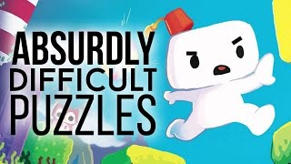 Most absurdly difficult puzzles in games