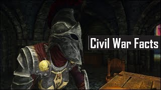 Skyrim: 5 More Civil War Facts That You May Have Missed - The Elder Scrolls 5 Secrets