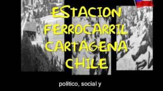 preview picture of video 'Cartagena de Chile :Estacion de Ferrocarril de Cartagena'