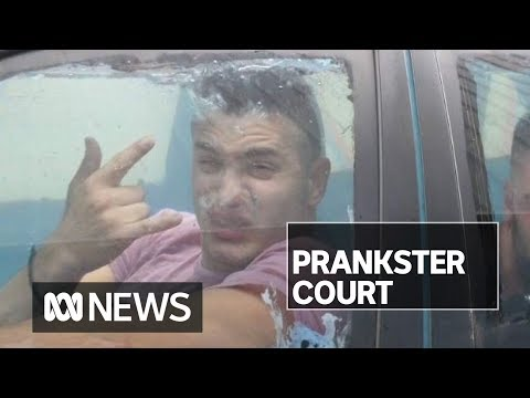RackaRacka YouTube prankster in court for 'scuba driving' water-filled car to bottle shop | ABC News