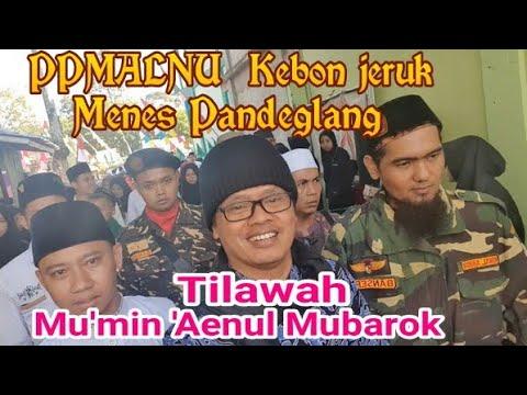 Mu'min Mubarok mengisi acara di PPMALNU pandeglang Banten