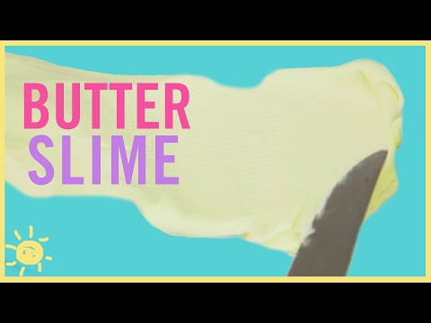 Butter Slime (Without Borax!)
