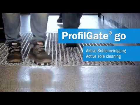 ProfilGate Go - Aktive Schmutzfangmatte