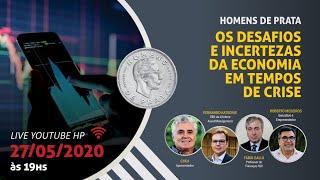 LIVE 05 – OS DESAFIOS E INCERTEZAS DA ECONOMIA EM TEMPOS DE CRISE